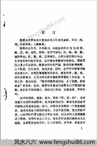 中华拳术与气功丛书腿拳.庞林太