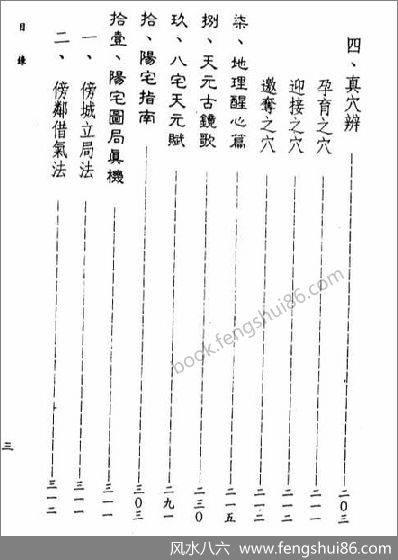 《三元地理真传》星云山人