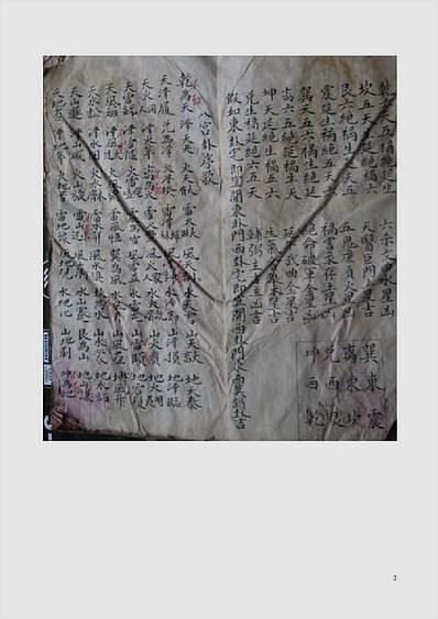 六十四卦顺逆四十八局.古抄本