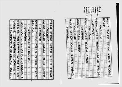 十八飞星策天紫微斗数全集手抄本