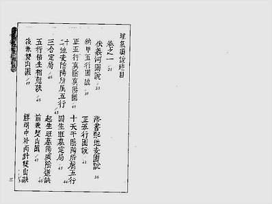 增补理气图说(古本)