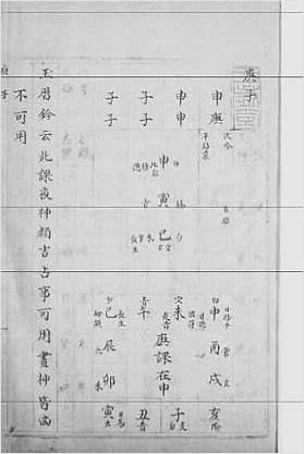 大六壬集应钤卷之37庚子(古本)