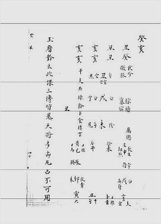 大六壬集应钤卷之60癸亥(古本)