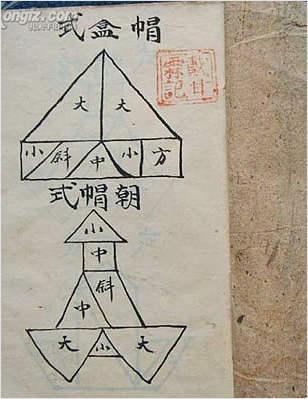 家传符咒-符咒修法步骤全套结手印诀(古本.拍照版)