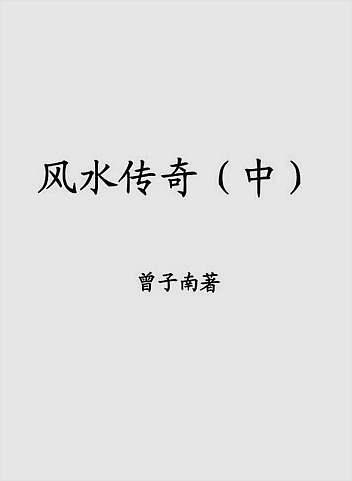 曾子南-风水传奇(中)
