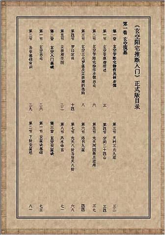 玄空阳宅推断入门01