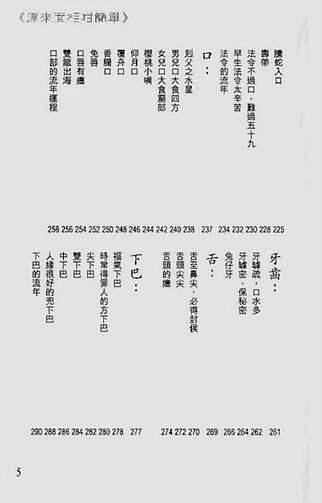 白鹤鸣-原来面相咁简单