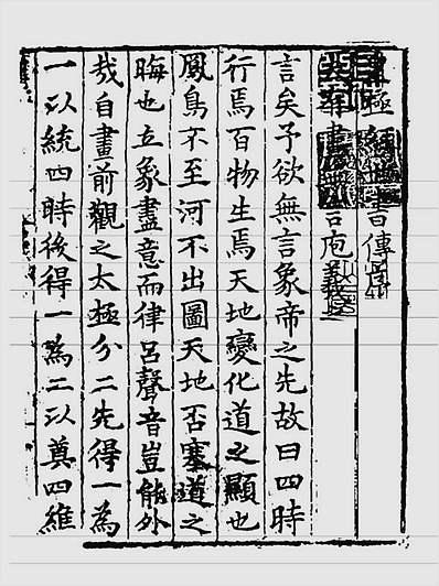 邵雍-皇极经世书传(古本)